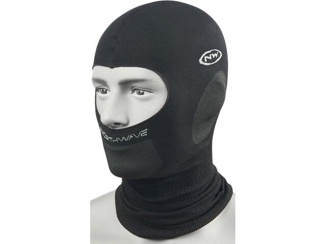Northwave Balaclava Plus Headcover Herren black